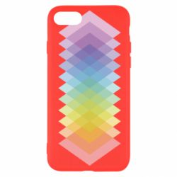Чохол для iPhone SE 2020 Gradient color transition rhombus