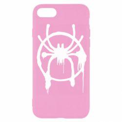 Чохол для iPhone SE 2020 Graffiti Spider Man Logo