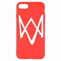 Чехол для iPhone SE 2020 Graffiti Watch Dogs logo