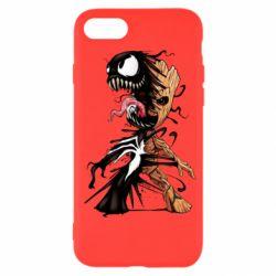 Чохол для iPhone SE 2020 Groot and Venom