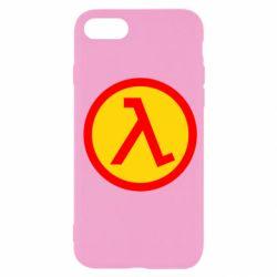 Чехол для iPhone SE 2020 Half Life Logo