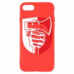 Чохол для iPhone SE 2020 Hand and ax