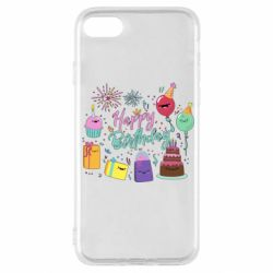 Чохол для iPhone SE 2020 Happy Birthday