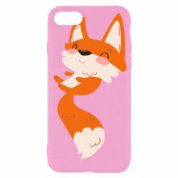 Чехол для iPhone SE 2020 Happy fox