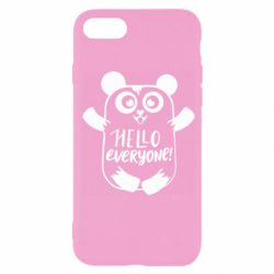 Чехол для iPhone SE 2020 Happy panda