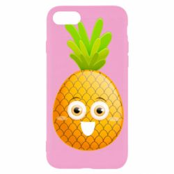 Чехол для iPhone SE 2020 Happy pineapple