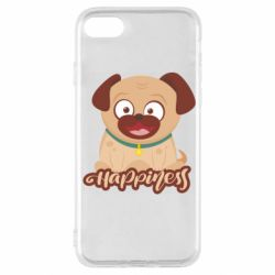 Чехол для iPhone SE 2020 Happy pug