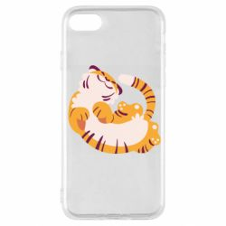 Чохол для iPhone SE 2020 Happy tiger