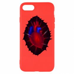 Чехол для iPhone SE 2020 Heart and blood vessels