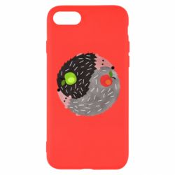 Чохол для iPhone SE 2020 Hedgehogs yin-yang