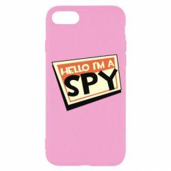 Чохол для iPhone SE 2020 Hello i'm a spy
