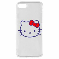 Чехол для iPhone SE 2020 Hello Kitty logo