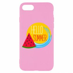 Чохол для iPhone SE 2020 HELLO SUMMER