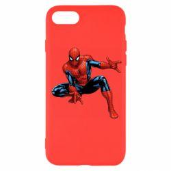 Чехол для iPhone SE 2020 Hero Spiderman