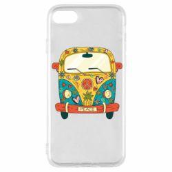 Чохол для iPhone SE 2020 Hippie bus