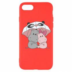 Чохол для iPhone SE 2020 Hippos