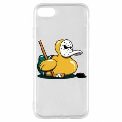Чохол для iPhone SE 2020 Hockey duck