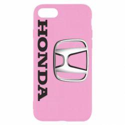Чехол для iPhone SE 2020 Honda 3D Logo