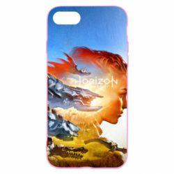 Чехол для iPhone SE 2020 Horizon Zero Dawn art