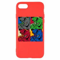 Чехол для iPhone SE 2020 Hulk pop art