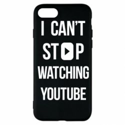 Чохол для iPhone SE 2020 I can't stop watching youtube