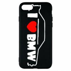 Чехол для iPhone SE 2020 I love BMW