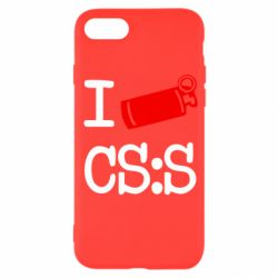 Чехол для iPhone SE 2020 I love CS Source