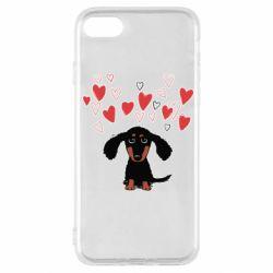 Чохол для iPhone SE 2020 I love dachshund