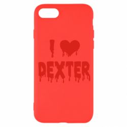 Чехол для iPhone SE 2020 I love Dexter