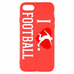 Чохол для iPhone SE 2020 I love football