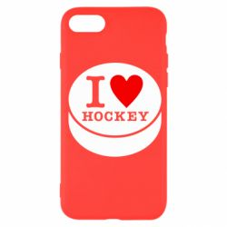 Чохол для iPhone SE 2020 I love hockey