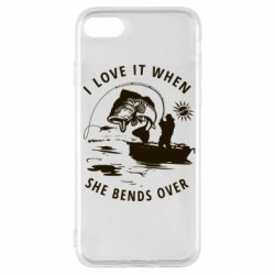 Чохол для iPhone SE 2020 I love it when she bends over