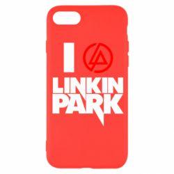 Чехол для iPhone SE 2020 I love Linkin Park