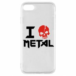 Чехол для iPhone SE 2020 I love metal