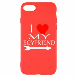 Чехол для iPhone SE 2020 I love my boyfriend