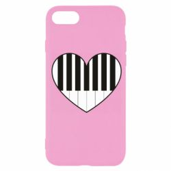 Чехол для iPhone SE 2020 I love piano