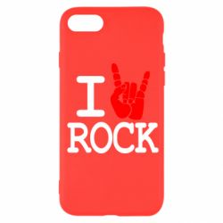 Чехол для iPhone SE 2020 I love rock