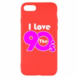 Чохол для iPhone SE 2020 I love the 90