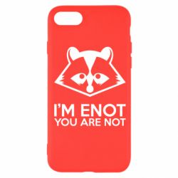 Чехол для iPhone SE 2020 I'm ENOT