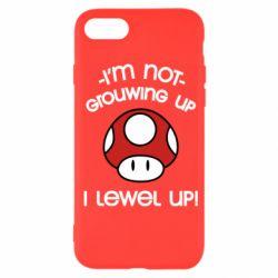 Чехол для iPhone SE 2020 I'm not growing up, i level up