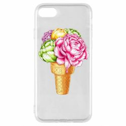 Чохол для iPhone SE 2020 Ice cream flowers