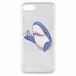 Чехол для iPhone SE 2020 Ikea Shark Blahaj