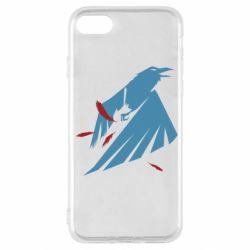 Чехол для iPhone SE 2020 Infamous: Second Son - Karmic titles two blue
