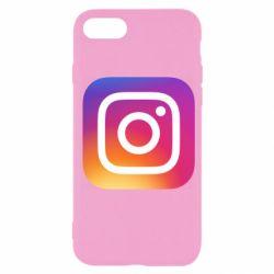 Чохол для iPhone SE 2020 Instagram Logo Gradient