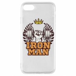 Чохол для iPhone SE 2020 Iron man and sports