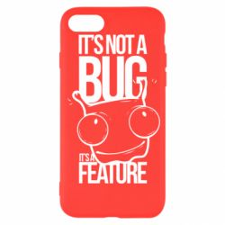 Чехол для iPhone SE 2020 It's not a bug it's a feature