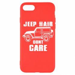Чохол для iPhone SE 2020 Jeep hair don't care