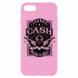 Чохол для iPhone SE 2020 Johnny cash mean as hell