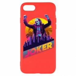 Чехол для iPhone SE 2020 Joker neon