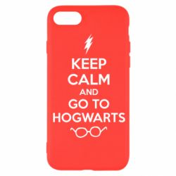 Чехол для iPhone SE 2020 KEEP CALM and GO TO HOGWARTS